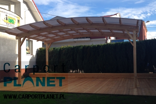 carport planet konstrukcje drewniane zadaszenia taras w. Black Bedroom Furniture Sets. Home Design Ideas
