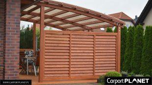 Carport Planet Drewniane Zadaszenie Tarasu Wiata Garażowa